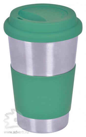 Термостакан «Утро», зеленый