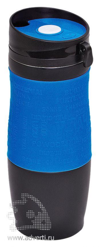 Термостакан вакуумный «Удача», синий