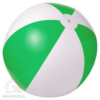 Мяч пляжный надувной «Зебра», зеленый