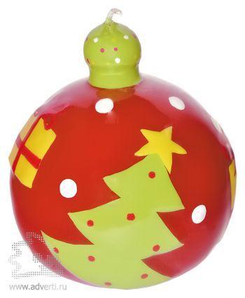 Свеча «Шар новогодний»