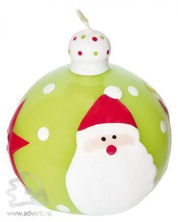Свеча «Шар новогодний 2»