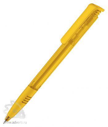 Шариковая ручка «Super Hit Clear + Softgriffzone», желтая