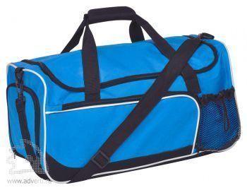 Сумка дорожная «Sporty», синяя