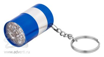 Брелок-фонарик «Бочонок», синий
