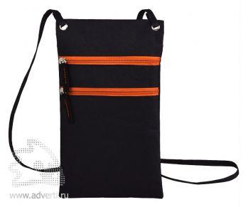 Сумка для путешествий «Active» с длинным ремешком, оранжевый