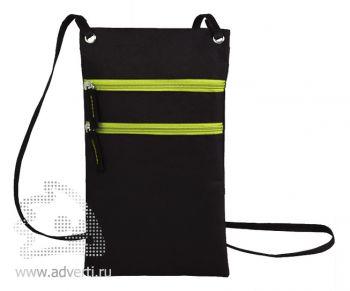 Сумка для путешествий «Active» с длинным ремешком, зеленый