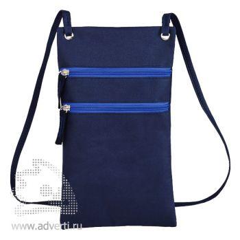 Сумка для путешествий «Active» с длинным ремешком, синий