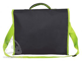Конференц-сумка «Active» с карманом на молнии, дищайн обратной стороны
