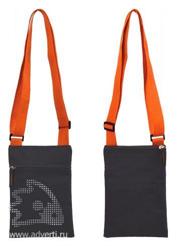 Сумка для документов «Active» с карманом на молнии, общий дизайн