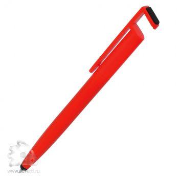 Шариковая ручка «N3» со стилусом Lecce Pen, красная