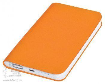 Универсальное зарядное устройство «Softi» 4000 mAh, оранжевое