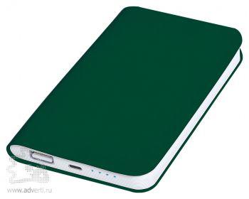 Универсальное зарядное устройство «Softi» 4000 mAh, зеленое