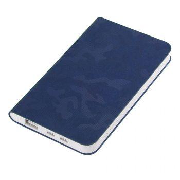 Универсальное зарядное устройство «Tabby» 4000 mAh, синее