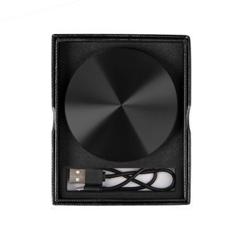 Универсальное зарядное устройство «UFO» (6000mAh), чёрное, в подарочной коробке