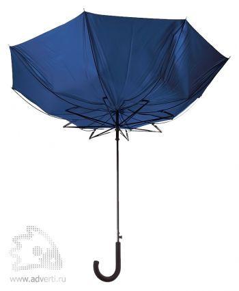 Зонт-трость «Unit Wind», полуавтомат, система защиты от ветра