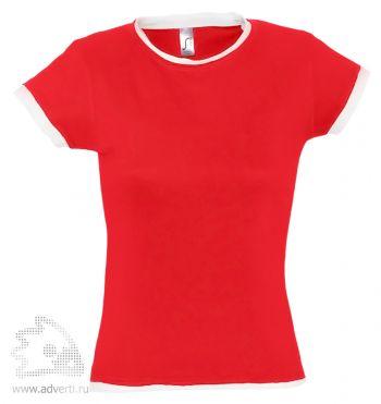 Футболка «Moorea 170», женская, красная