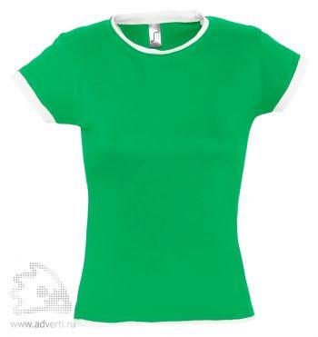 Футболка «Moorea 170», женская, зеленая