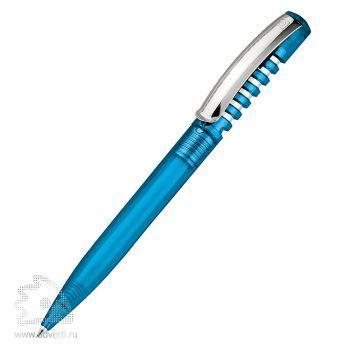 Шариковая ручка «New Spring Clear +  Metal clip», голубая