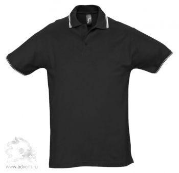 Рубашка поло «Practice 270» с контрастной отделкой, мужская, черная