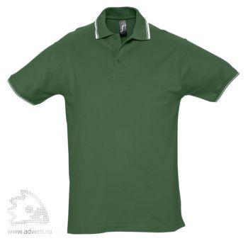 Рубашка поло «Practice 270» с контрастной отделкой, мужская, зеленая