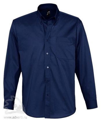Рубашка «Bel Air», мужская, темно-синяя