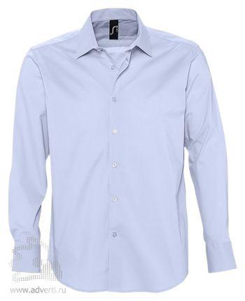 Рубашка «Brighton», мужская, голубая