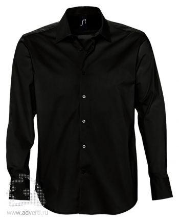 Рубашка «Brighton», мужская, черная