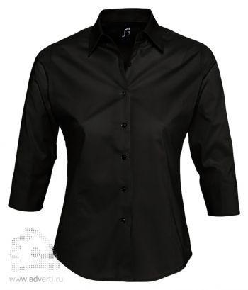 Рубашка с рукавом 3/4 «Effect 140», женская, черная