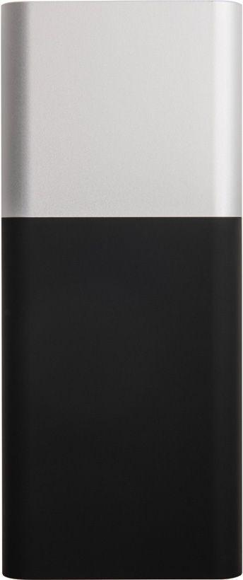 Универсальное зарядное устройство «Black gun» 8000 mAh, серебристое