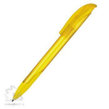Шариковая ручка «Challenger Soft Clear», желтая