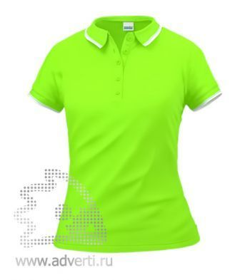 Рубашка поло «Stan Trophy W», женская, салатовая