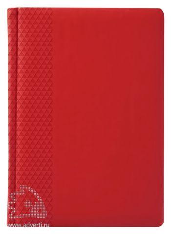 Ежедневник «Brand», красный