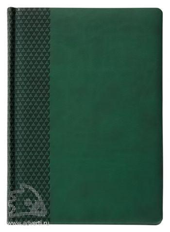 Ежедневник «Brand», зеленый