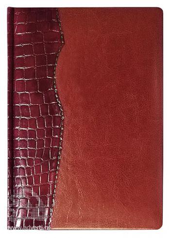 Ежедневник «Cardinal», коричневый