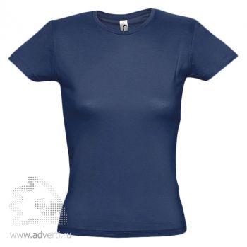 Футболка «Miss 150», женская, темно-синяя