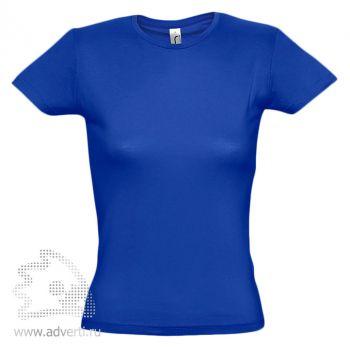 Футболка «Miss 150», женская, синяя