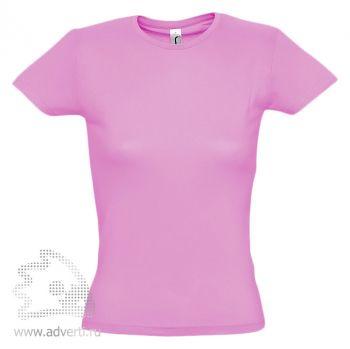 Футболка «Miss 150», женская, светло-розовая