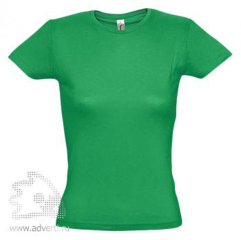 Футболка «Miss 150», женская, зеленая