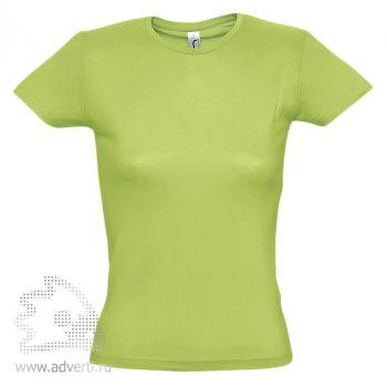 Футболка «Miss 150», женская, светло-зеленая