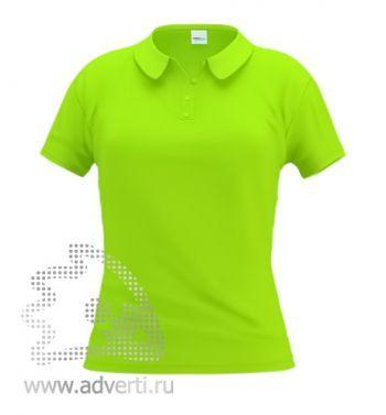 Рубашка поло «Stan Women», женская, салатовая