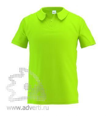 Рубашка поло «Stan Primier», мужская, салатовая