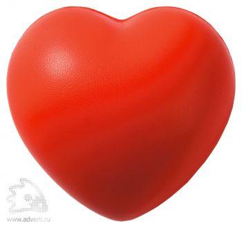 «Сердце»-антистресс, красный