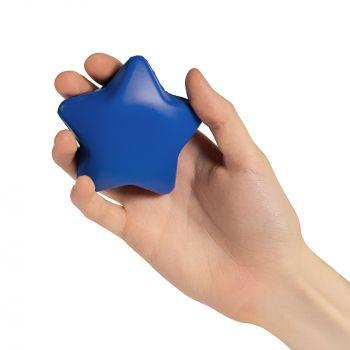 Антистресс «Звезда», синий, в руке