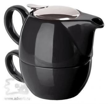 Набор чайный «Эклектика», черный