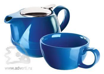 Набор чайный «Эклектика», синий