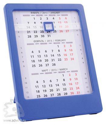Настольный календарь «Офисный помощник», синий