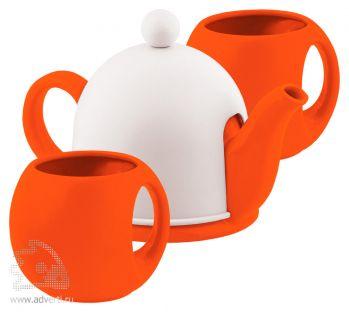 Набор чайный «СлуЧАЙный восторг», оранжевый