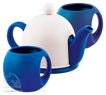Набор чайный «СлуЧАЙный восторг», темно-синий