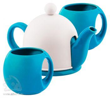 Набор чайный «СлуЧАЙный восторг», голубой