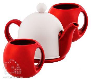 Набор чайный «СлуЧАЙный восторг», красный
